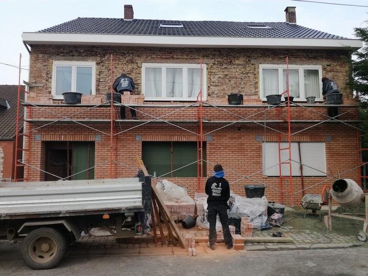 Travaux de rénovation à Mons