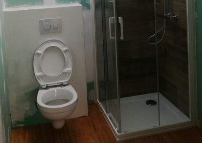 Entrepreneur transformation salle de bains Mons